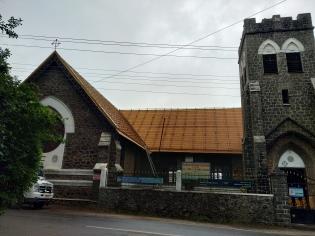 Church outside Coaker's Walk
