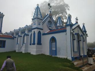 Side View, La Salette Church