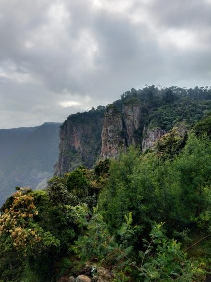 Three Pillar rocks, Kodaikanal
